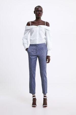 Zara Dames Pantalons - Broek met joggertaille