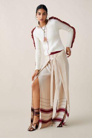Zara Studio trui met sierstiksels limited edition