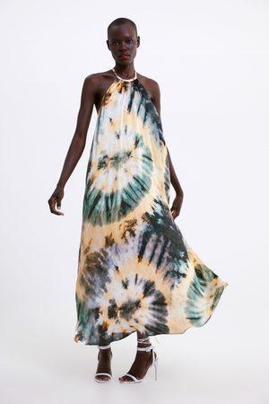 Zara Jurk met tie-dye print