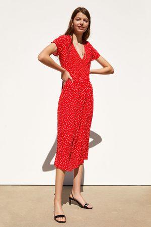 Zara Midi-jurk met stippen