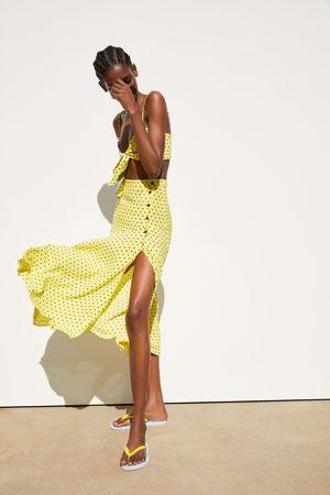 Zara Rok met stippenprint