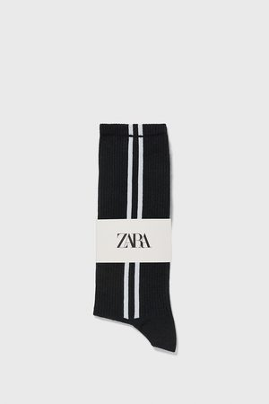 Zara Sokken met strepen opzij