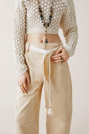 Zara Studio broek met ceintuur limited edition