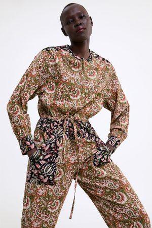 Zara Combi-jumpsuit met print