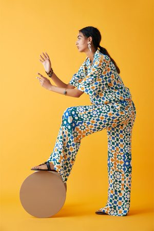 Zara Studio broek met print limited edition