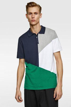 Zara Polo met kleurblok