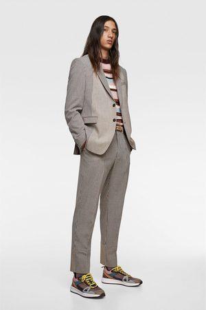 Zara Kostuumbroek met patchwork
