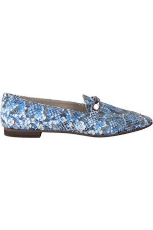 Omoda Dames Loafers - Blauwe Loafers 191/722 BOOT