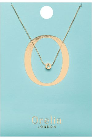 Orelia Kettingen-Necklace Initial O