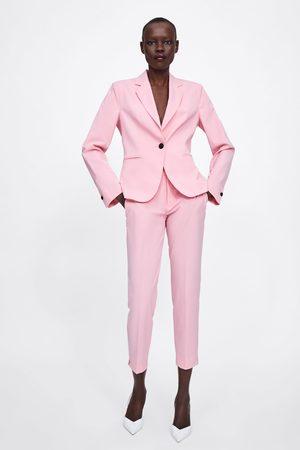 Zara Strakke broek met split onderin