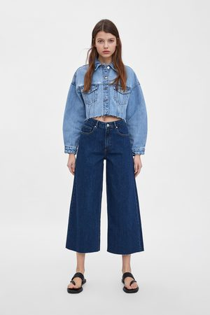 Zara Culotte-jeans met mid-rise