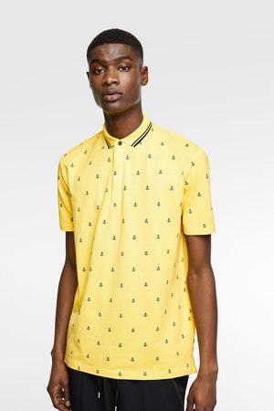 Zara Polo met nautische print