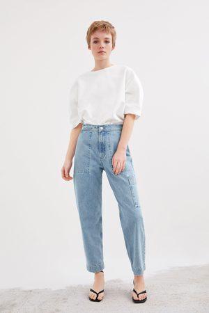 Zara Denim broek met zakken