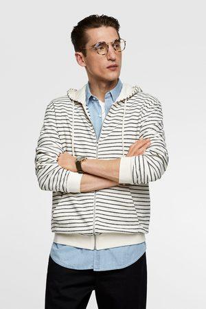 Zara Striped hoodie