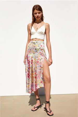 Zara Asymmetrische rok met print
