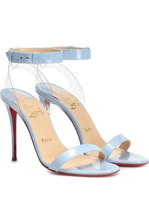 Christian Louboutin Jonatina 100 patent leather sandals