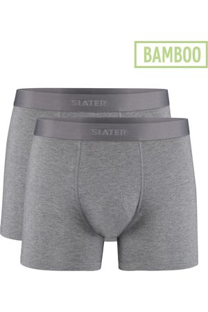 Slater Boxershorts grijs bamboo 2-pack