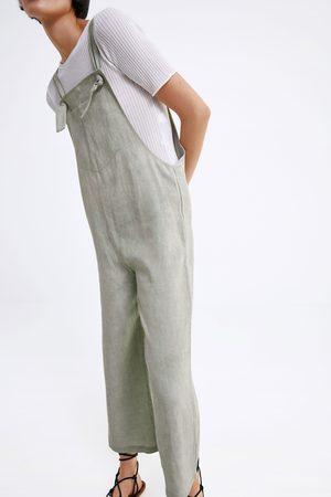 Zara Wide-leg jumpsuit with pocket