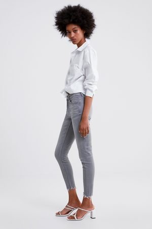 ec51761097a6ed Zara Jeans z1975 met asymmetrische pijpen