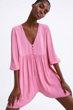 Zara Jumpsuit-jurk met knopen