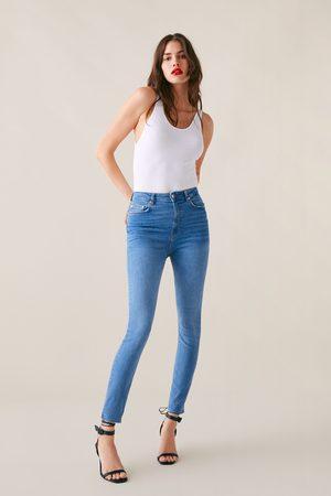Zara Jeans zw premium high waist skinny sunrise blue