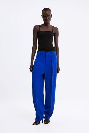Zara Dames Body's - Body met schouderbandjes