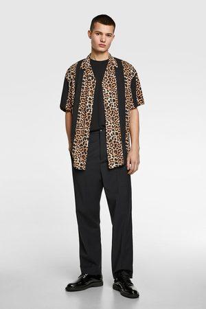 Zara Combi-overhemd met dierenprint