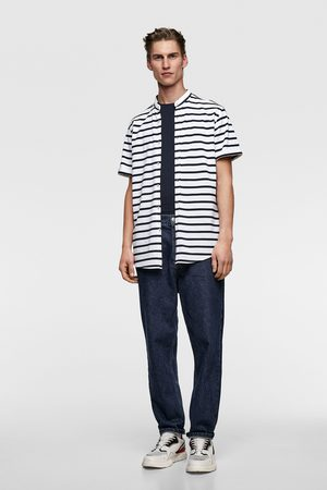 Zara Piqué overhemd met strepen