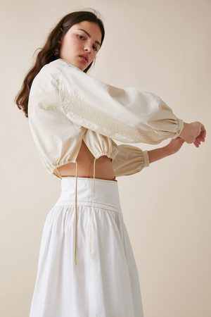 Zara Studio cropped blouse limited edition