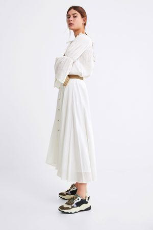 Zara Rok met contrasterende ceintuur