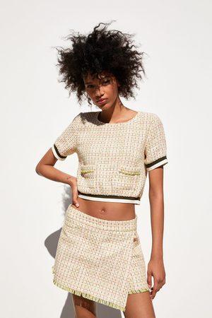 Zara Tweed broekrok
