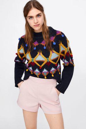 Zara Short met hoge taille