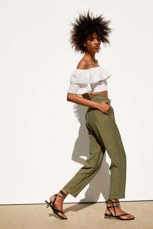Zara Soepelvallende broek