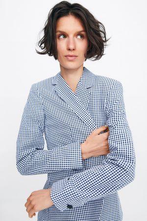 Zara Dames Blazers & Colberts - Blazer met vichy ruit