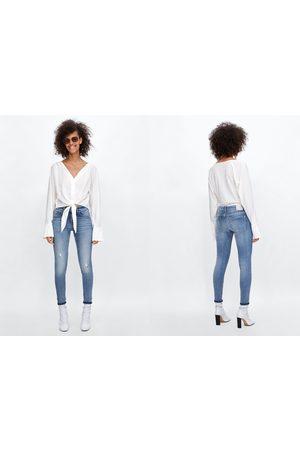 Zara Jeans z1975 met omgeslagen pijpen