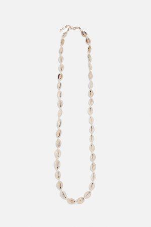 Zara Ketting met schelpvormige kralen