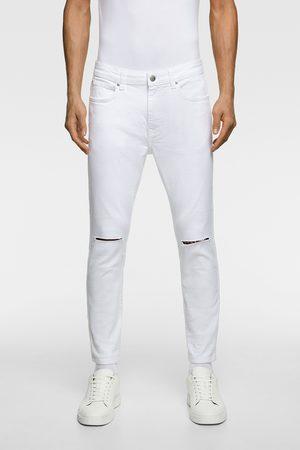 Zara Skinny jeans met scheuren