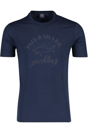 Paul & Shark T-shirt o-hals logo print