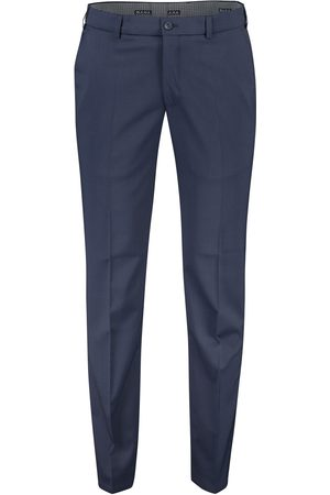 m.e.n.s. Pantalon wol Madison blauw