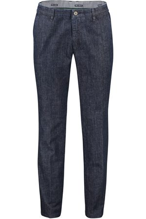 m.e.n.s. Pantalon Madison Modern Fit donkerblauw