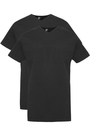 Alan Red T-shirt Vermont Long zwart 2-Pack