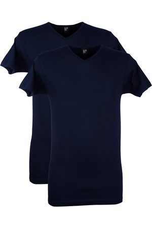 Alan Red Heren Tops & Shirts - T-shirt Vermont 2-pack donkerblauw