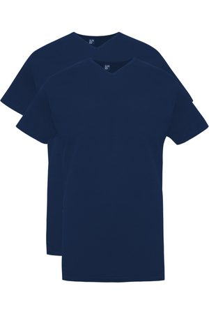 Alan Red T-shirt Vermont Long navy 2-pack