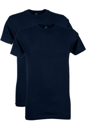 Alan Red Heren Shirts - T-shirt Virginia navy 2-Pack