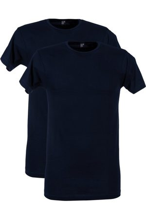 Alan Red T-shirt Derby donkerblauw 2-pack