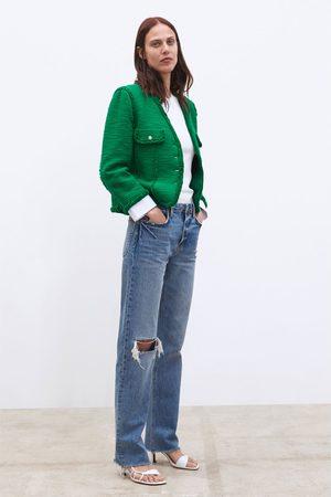 Zara Vest met sierknopen