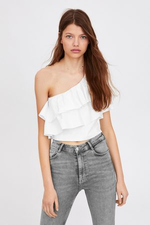 Zara Dames Pantalons - Sculpt jeans met extra hi-rise
