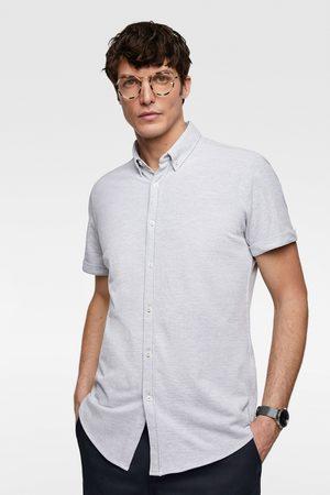 Zara Piqué overhemd