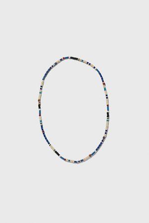 Zara Ketting met blauwe kralen