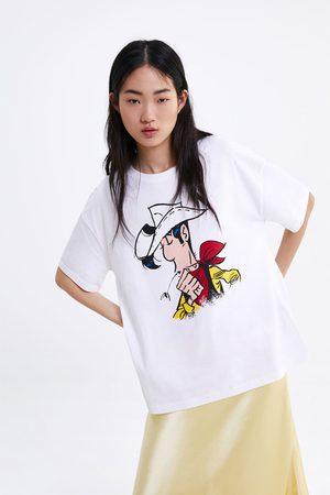 Zara T-shirt lucky luke ©lucky comics